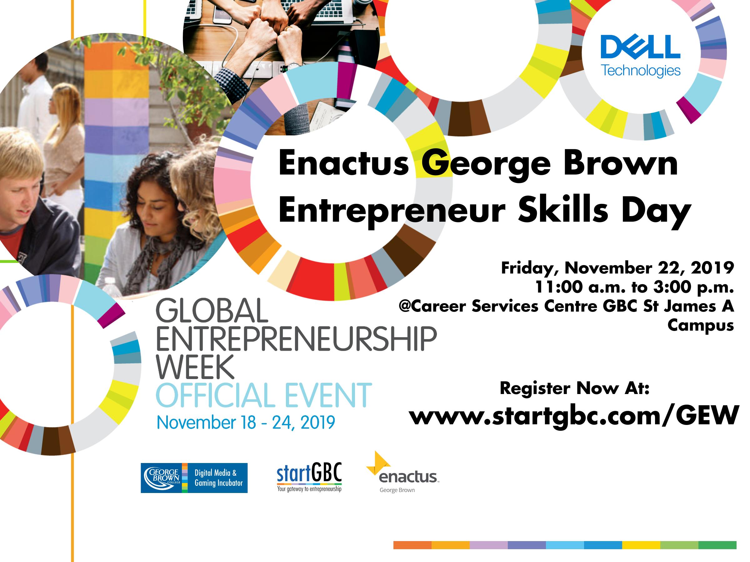 Enactus George Brown Entrepreneur Skills Day