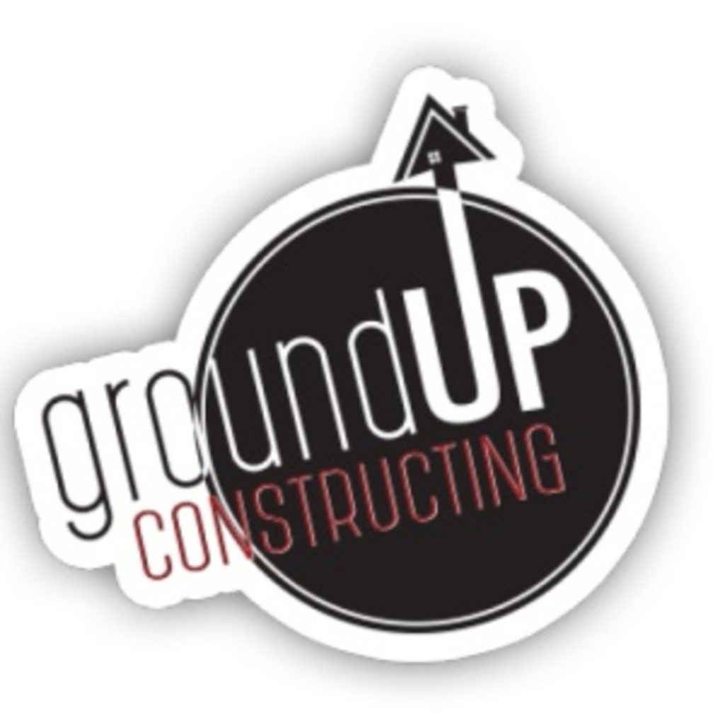 Ground Up Constructing Logo