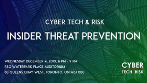 Cvber Tech & Risk Insider Risk Prevention