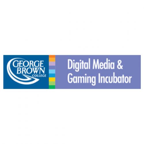George Brown College Digital Media and Gaming Incubator Logo