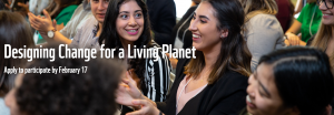 Designing Change for a Living Planet competition