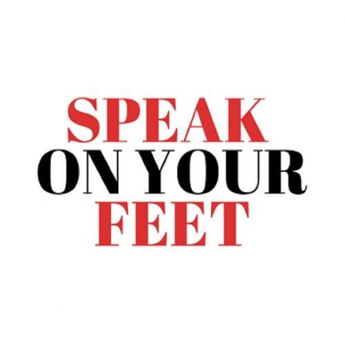 Speak On Your Feet Logo