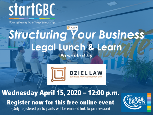 Oziel Law Legal Lunch & Learn