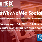 startGBC #WhyNotMe Social April 14, 2020