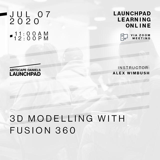 Artscape Daniels Launchpad - July 7th