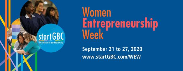 startGBC Women Entrepreneurship Week Logo