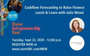 startGBC Women Entrepreneurship Week Cashflow Forecasting Logo