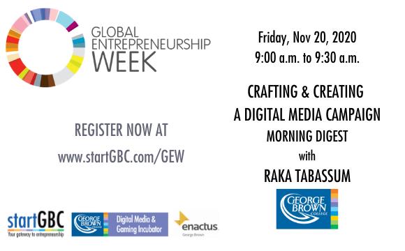 GEW Creating a Digital Media Campaign